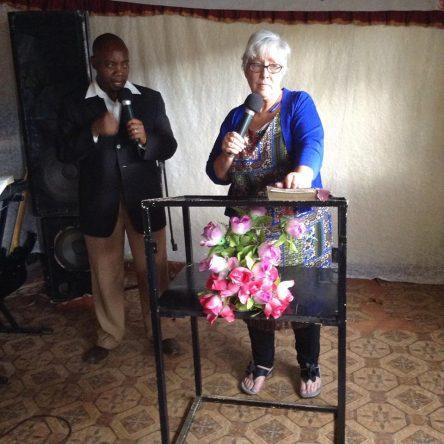 Preaching at Kip Karen