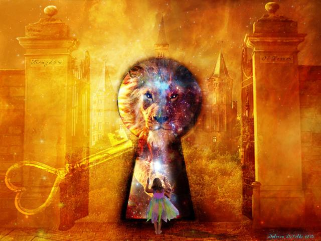 prophetic door and lion