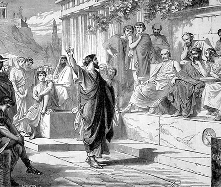 Saint-Paul-Preaching-on-Mars-Hill