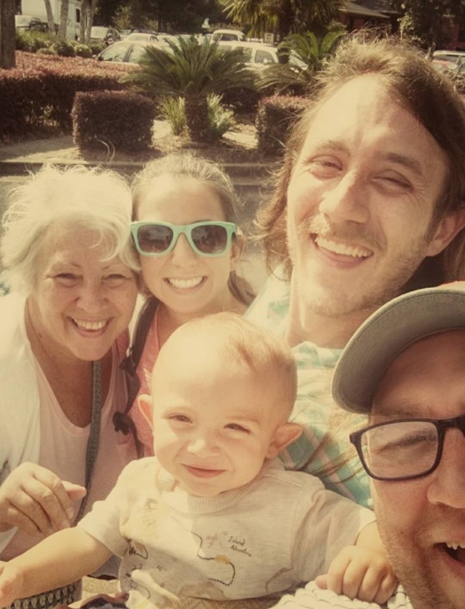 Mom, Amy, Jonah, Colt & Mav