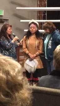 Prayer over Alaskan Native Indian