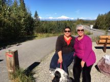Mt. Denali in the background