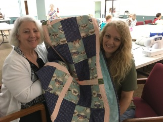 Quilt made by Ana Pack