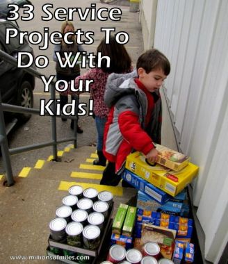 Check out 33 Projects to Do With Your Kids