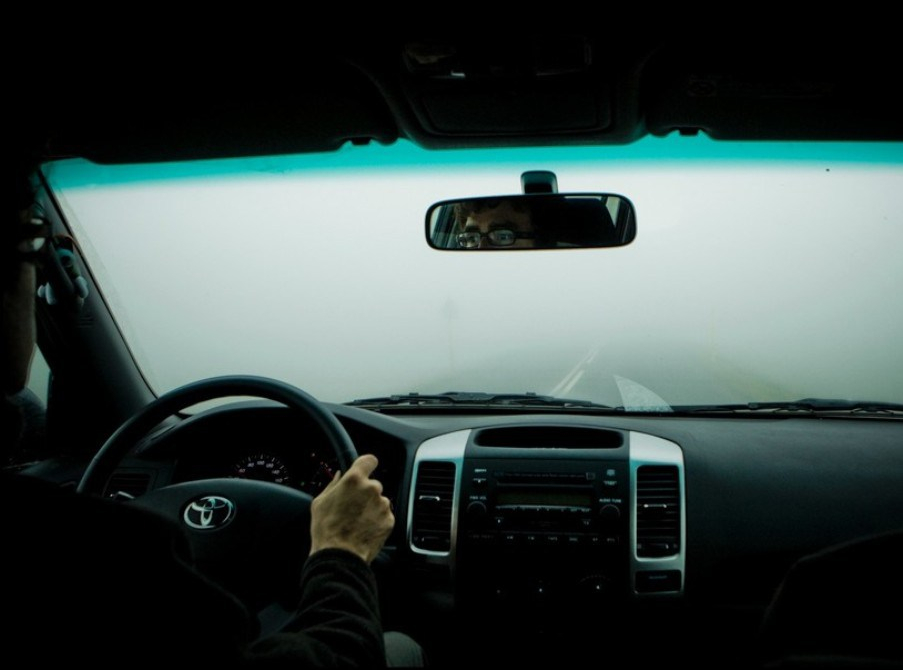 Foggy-Windscreen