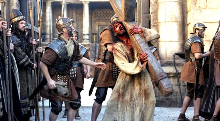 THE PASSION OF THE CHRIST, Jim Caviezel, 2004, (c) Newmarket/courtesy Everett Collection