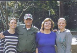 My Brother Doug, his wife Lise and Daughters Dena & Adrienne