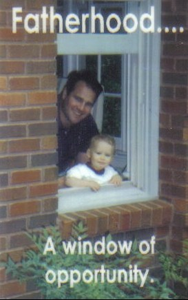 Fatherhood A Window of Opportunity Johnny Blue Sr. & Jr.
