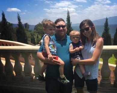 My Son Maverick, Amy & two sons Jonah & Hudson