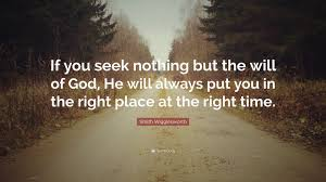 If you seek nothing