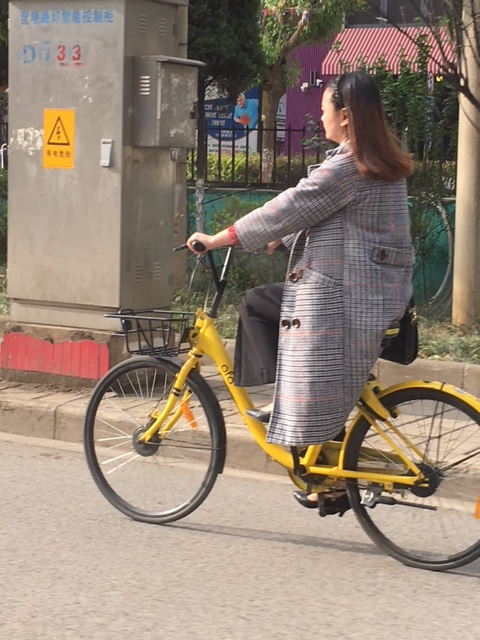Bike Woman